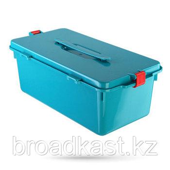 Бак для сбора, хранения и перевозки медицинских отходов  7,5 л.