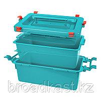 Бак для сбора, хранения и перевозки медицинских отходов 12,0 л. , фото 2