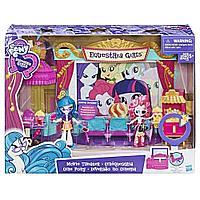 "Hasbro My Little Pony Equestria Girls Minis Игровой набор ""Кинотеатр"" Джунипер Монтаж"