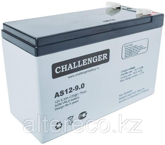 Аккумулятор Challenger AS12-9.0 (12В, 9Ач), фото 2