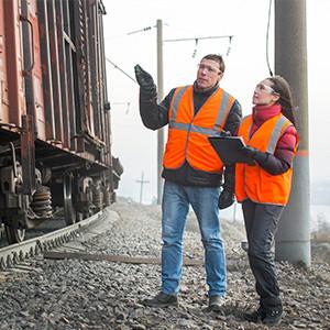 Раскредитовка вагонов и контейнеров на ЖД станции