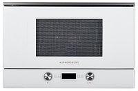 Микроволновая печь Kuppersberg белый/полностью стеклянный фасад