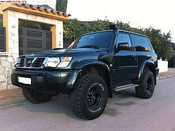 Nissan Patrol Y61 2000-2004 шноркель - RIDEPRO 4X4