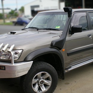 Nissan Patrol Y61 2003- шноркель- T4
