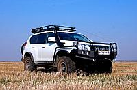 Toyota Prado 150 шноркель - RIDEPRO 4x4