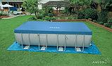 Прямоугольный каркасный бассейн Intex 28352, фото 4