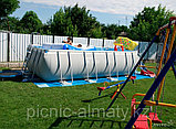 Прямоугольный каркасный бассейн Intex 28352, фото 3