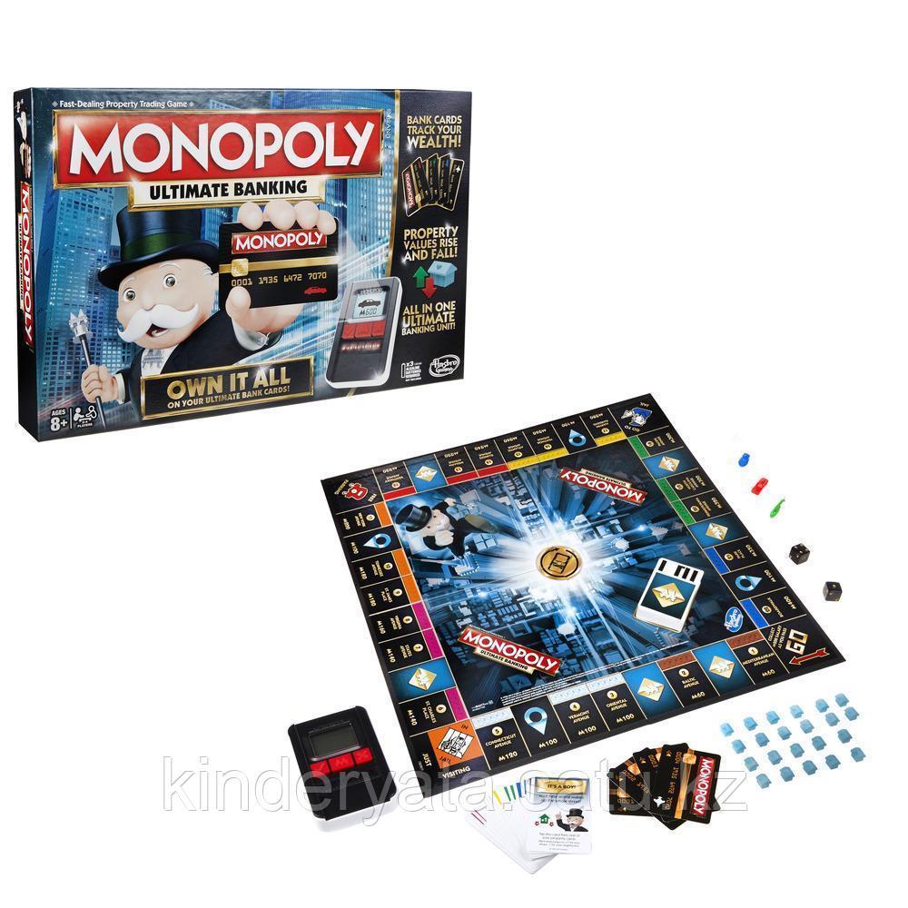 Игра настольная Монополия с банковскими карточками
