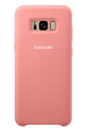 Силиконовый чехол Silky and Soft-touch finish для Samsung Galaxy S8 G950F (розовый)