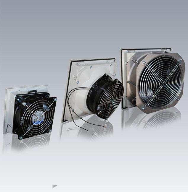 EBM Фильтрующий вентилятор 45W 160 м3/ч 250х250мм