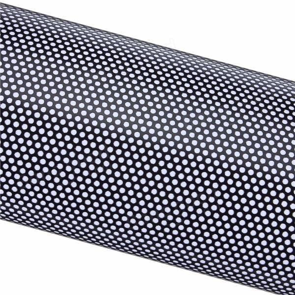 Перфорированная пленка для сольвентной печати  140 гр. (1,27м х 50м.)