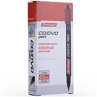 Маркер для CD/DVD Berlingo красный, 0,5мм, фото 3