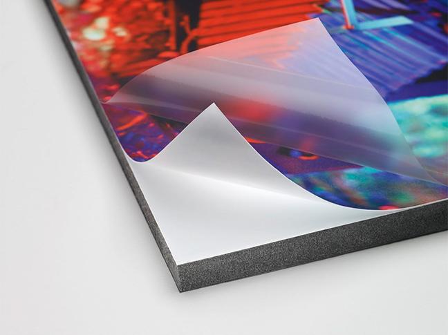 Бэклит пластик PVC матовый для сольвентной печати 300М (0,914м х 50м)