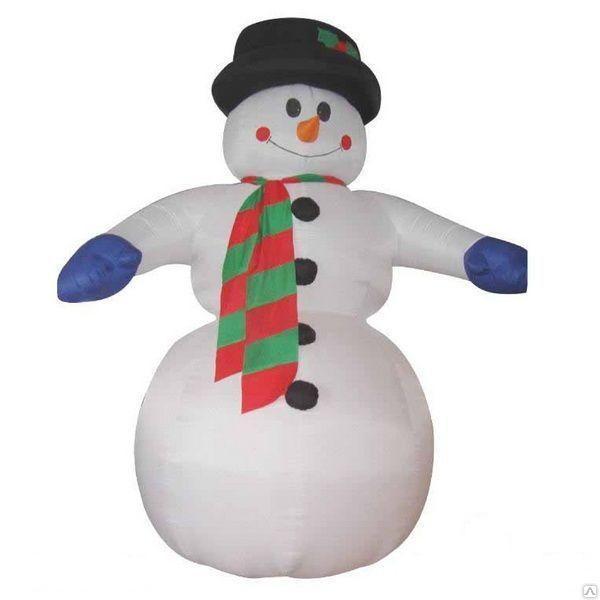 """Надувная фигура """"Снеговик"""" 10 метров"""