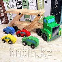 Деревянный Автовоз, фото 2