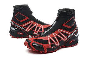 Зимние кроссовки Salomon Speedcross красные, фото 3