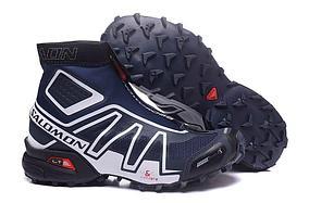 Зимние кроссовки Salomon Speedcross синие