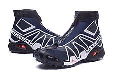 Зимние кроссовки Salomon Speedcross синие, фото 2