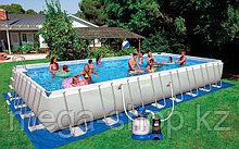 Каркасный бассейн INTEX 975х488х132см