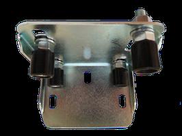 DUHB. Верхний поддерживающий кронштейн с 4 роликами.