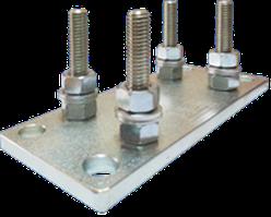 AP 65. Регулировочная пластина для крепления малой каретки.