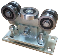 DG 75/5. Каретка средняя с 5 роликами с регулировочными отверстиями овальной формы.
