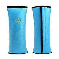 Подушка-накладка на ремень безопасности автомобиля HeroRider для детей (Голубой)