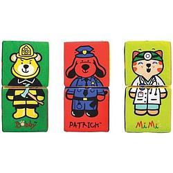 Кубики-пазлы K's Kids KA622