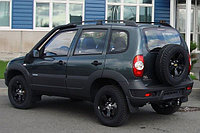 Chevrolet Niva / Шевроле Нива шноркель- T4