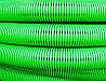 DKC Труба гибкая двустенная дренажная д.110мм, класс SN8, перфорация 360 град., цвет зеленый