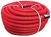 DKC Труба гибкая двустенная для кабельной канализации д.90мм, цвет красный, в бухте 50м., без протяжки