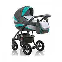 Детская универсальная коляска Adamex barletta new 2в1 (B2)