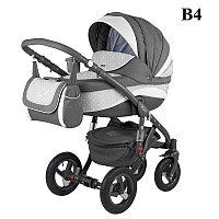 Детская универсальная коляска Adamex barletta new 3в1 (B4), фото 1