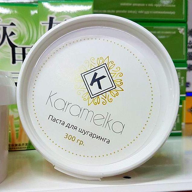 Карамелька паста для шугаринга ПЛОТНАЯ (Karamelka) 300gr