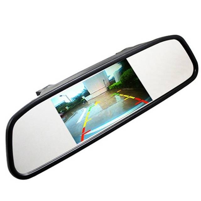 Монитор зеркало 4.3 дюйм.