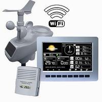 AW003 Профессиональная беспроводная метеостанция с WiFi и цветным дисплеем, фото 1