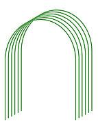 Дуги для парника GRINDA, покрытие ПВХ, 3,0м, 6шт