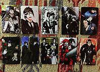 Коллекционная наклейка(стикер) Темный Дворецкий, поштучно