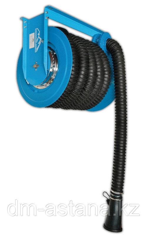 Катушка для удаления выхлопных газов  (со шлангом 75 мм х 10 м)
