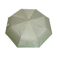 Компактный складной зонт, механический, разные цвета в ассортименте
