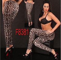 Леопардовые леггинсы