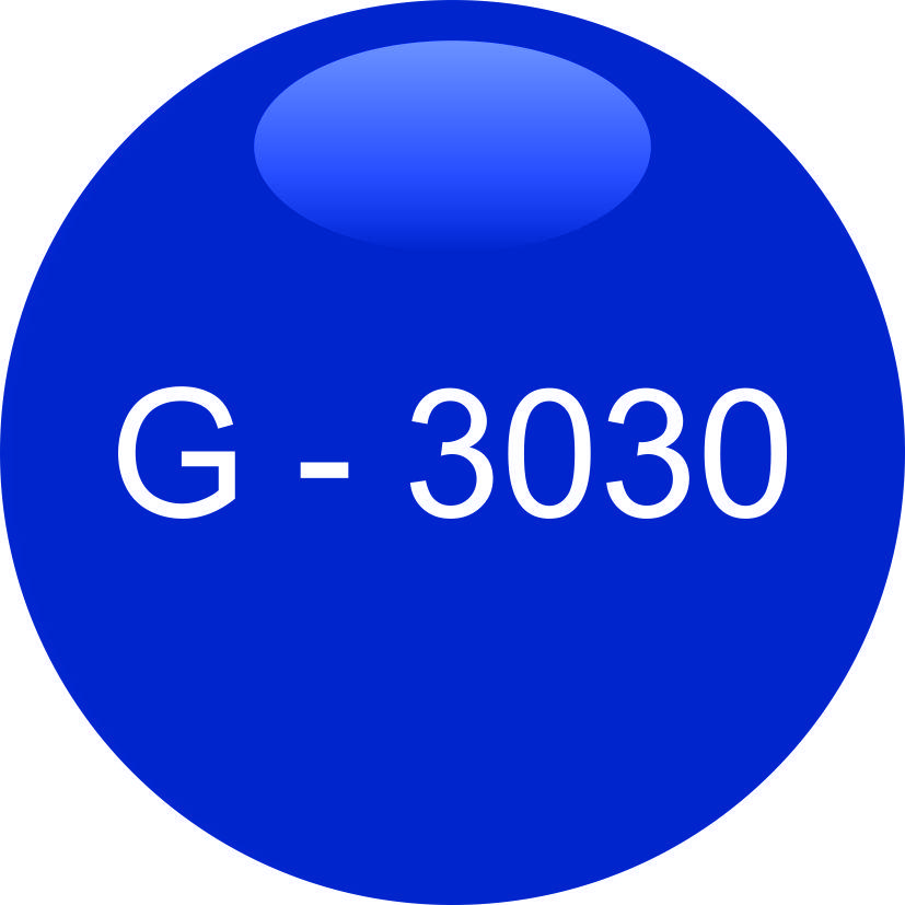 Винил синий G - 3030 (1,06м х 45,7м)