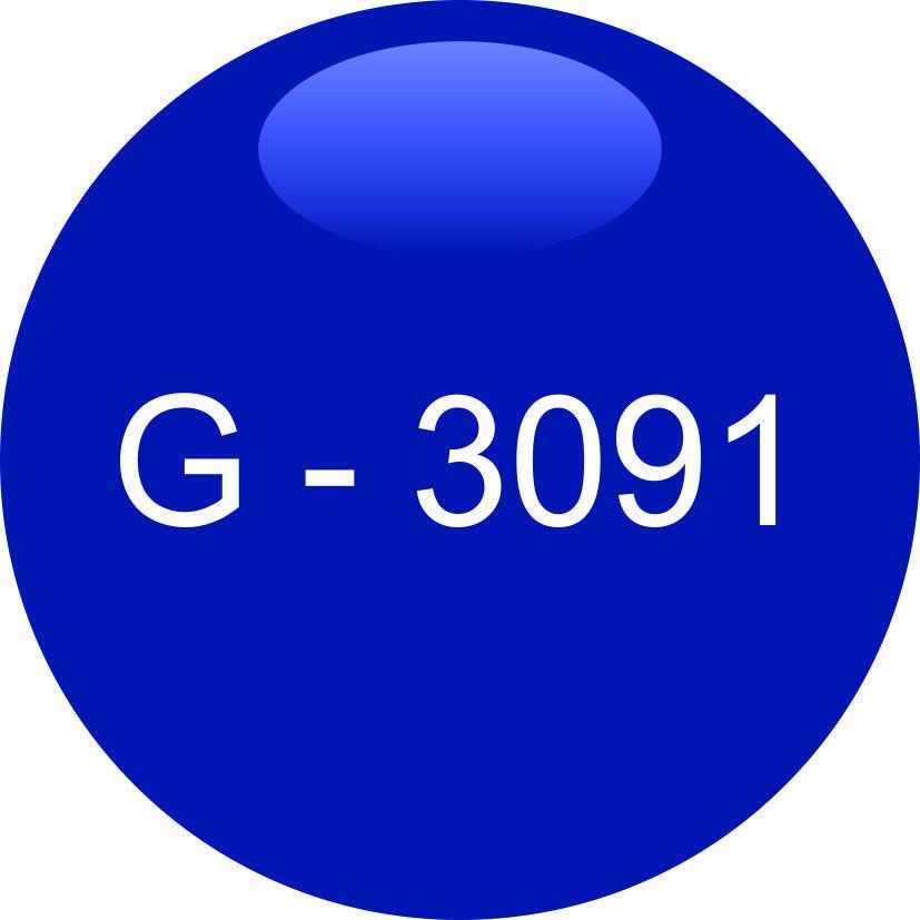 Винил синий G - 3091 (1,06м х 45,7м)