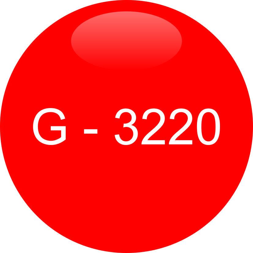 Винил красный G - 3220 (1,06м х 45,7м)