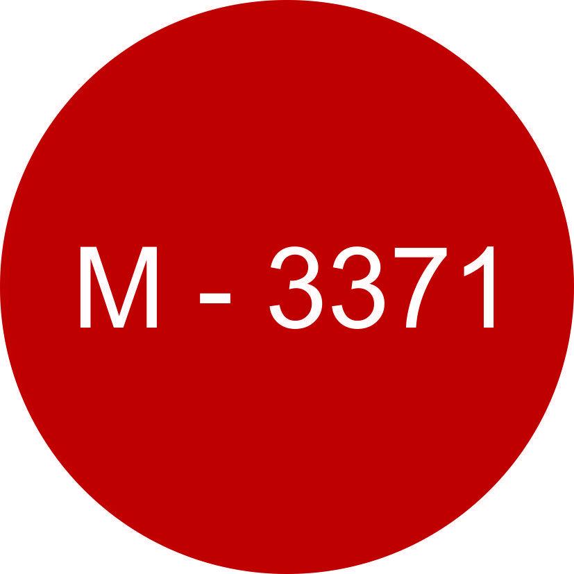 Винил красный М - 3371 (1,06м х 45,7м)