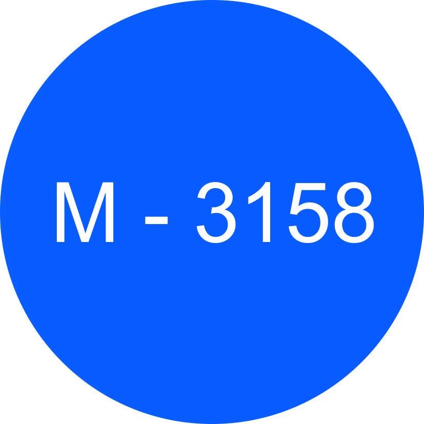 Винил синий М - 3158 (1,06м х 45,7м)