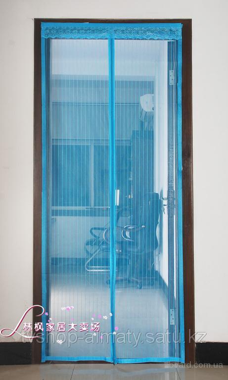 Москитная сетка на магнитах размер 120х200