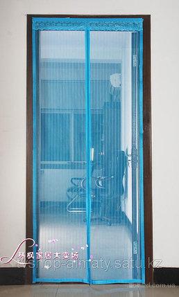 Москитная сетка на магнитах размер 120х200, фото 2