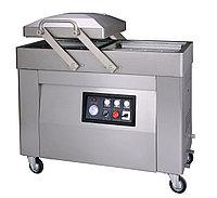 Напольный двухкамерный вакуумный аппарат HVC-610S/2A (DZ-610/2SA) (нерж) low cost