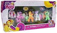 Детский игровой набор от Fun Horse My Little Pony 4 фигурки